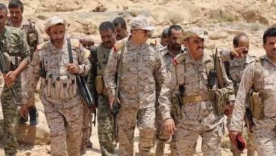 یمنی فوج نے حیران گورنری میں حوثیوں کا ڈرون طیارہ مار گرایا
