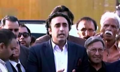 عمران خان نے کہا تھا کہ وہ احتجاج کرنے والوں کو کنٹینر بھی دیں گے اور کھانا بھی، اب عمران خان کو مولانا فضل الرحمان کے دھرنے پر کیوں اعتراض ہے: بلاول بھٹو