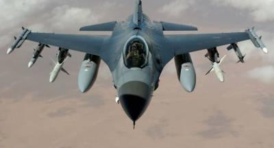 امریکی ایف 16 جرمنی میں گر کرتباہ، پائلٹ محفوظ