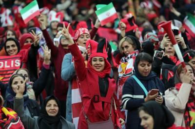 چالیس سال بعد ایرنی خواتین کو سٹیڈیم میں جا کر فٹبال میچ دیکھنے کی اجازت