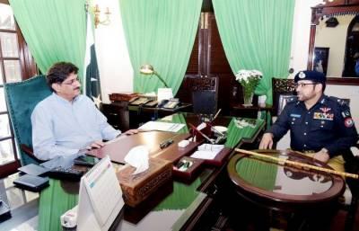 کراچی اب مزید خطرناک نہیں رہا۔وزیراعلی سندھ کو آئی جی سندھ کی بریفنگ