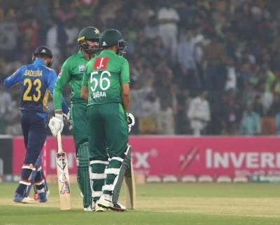 سری لنکا نے ٹی ٹوئنٹی سیریز میں پاکستان کو کلین سوئپ کردیا