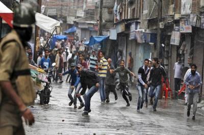 مقبوضہ کشمیر میں زندگی سسکنے لگی، کرفیو کا 70واں روز