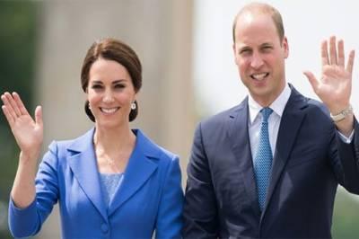 شہزادہ ولیم اور انکی اہلیہ کیٹ میڈلٹن پیر کی رات پاکستان پہنچیں گے
