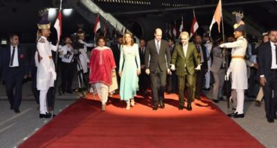 برطانوی شاہی جوڑا پاکستان پہنچ گیا، آج صدر اور وزیراعظم سے ملاقات ہوگی
