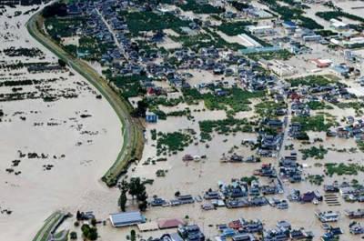 جاپان میں خطرناک سمندری طوفان سے ہلاکتوں کی تعداد 67ہوگئی