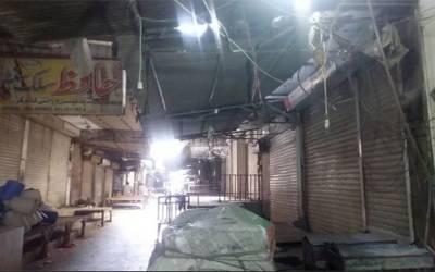 حکومتی پالیسیوں کے خلاف فیصل آباد میں تاجروں کی مکمل ہڑتال
