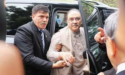 آصف زرداری کو جیل سے ہسپتال منتقل کرنے کی درخواست مسترد