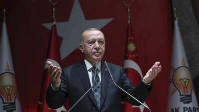 ترک صدر کا شام میں فوجی کاروائی جاری رکھنے کا اعلان