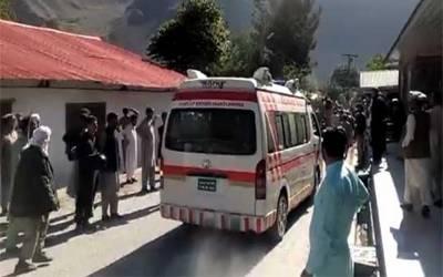 چترال کے علاقے میں کار اور وین میں خوفناک تصادم، 7 افراد جاں بحق، 9 زخمی