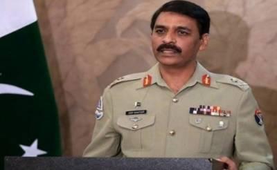 بھارتی فوج امن کا جھنڈا لہرا رہی جو اس کے قول و فعل کے برعکس ہے:ڈی جی آئی ایس پی آر