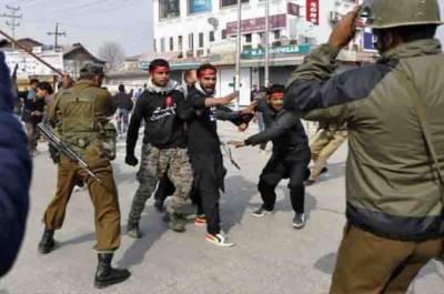 مقبوضہ کشمیر میں انسانی حقوق کی پامالی ،کرفیو کا 78 واں روز