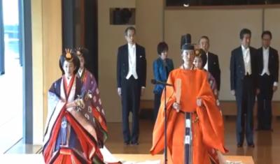 جاپان:شہنشاہ نوروہٹیو کی دوبارہ تاج پوشی باضابطہ طور پر کر دی گئی