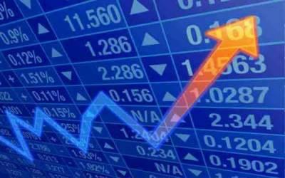 پاکستان سٹاک مارکیٹ میں تیزی، 100انڈیکس میں87 پوائنٹس اضافہ