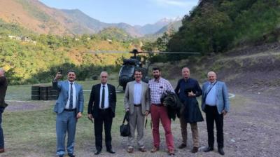 بھارتی دعووں کی قلعی کھولنے کیلئے غیر ملکی سفارتکاروں کا ایل او سی کا دورہ
