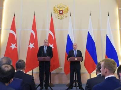 روسی صدر کی طیب ایردوآن سے شام کے لیے''یادگار'' نتائج کی حامل بات چیت