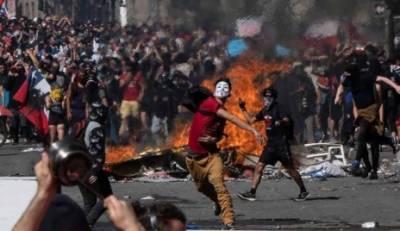 چلی میں پرتشدد مظاہروں کے بعدحکومتی اصلاحات کا اعلان