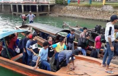 تھائی لینڈ نے میانمار کے 102 غیر قانونی تارکین وطن کو واپس بھیج دیا
