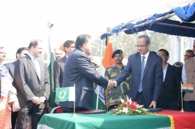 پاکستان اور بھارت کے درمیان کرتارپور راہداری کھولنے کیلئے معاہدہ طے پاگیا