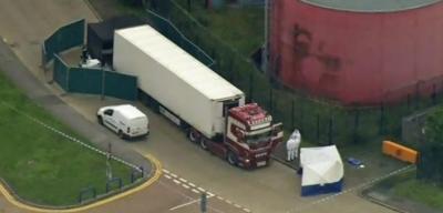 لندن میں کنٹینر سے ملنے والی 39 لاشوں کی شناخت کرلی گئی، ڈرائیور گرفتار