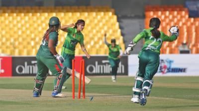 پہلا ٹی ٹوٹنی،پاکستان نے بنگلہ دیش کو 14 رنز سے ہرا دیا