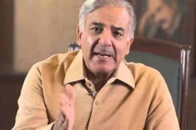 تقسیم برصغیر کا ایجنڈا ادھورا، آج کشمیر بنے گا پاکستان کے اعلان کا دن ہے: شہباز شریف