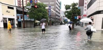 جاپان میں سیلاب نے تباہی مچادی، 10 افراد ہلاک