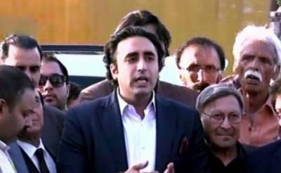 عمران خان جلد استعفیٰ دینے والے ہیں، مارچ میں شرکت کرنےوالے تمام افرادکوسلام ، مارچ میں ن لیگ اور پیپلز پارٹی کے جھنڈے نظر آ رہے ہیں: بلاول بھٹو