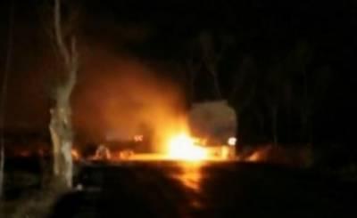 چین آئل پلانٹ میں دھماکہ ،5 افراد ہلاک،5 زخمی،تین لاپتہ