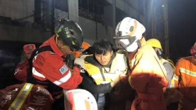 چین میں زیر زمین کار پارکنگ منہدم، آٹھ مزدور ہلاک