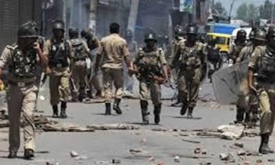 مقبوضہ کشمیر : بھارتی فوج کی دہشت گردی،کریک ڈاون کے دوران کشمیری نوجوان کو شہید کر دیا