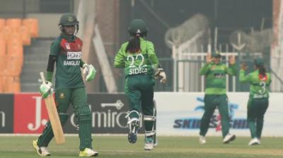 پاکستان،بنگلہ دیش ویمن کرکٹ ٹیموں کے درمیان پہلا ون ڈے کل کھیلا جائے گا