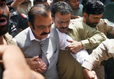 لاہور:راناثناءاللہ کےجوڈیشل ریمانڈ میں توسیع 14 روزکی توسیع