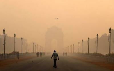 بھارت: نئی دہلی میں فضائی آلودگی بلند ترین شرح پر
