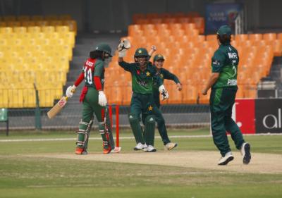پاکستان اور بنگلہ دیش کی خواتین کرکٹ ٹیموں کے درمیان دوسرا ایک روزہ میچ آج کھیلا جائیگا
