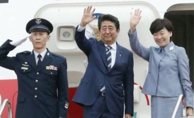 جاپانی وزیراعظم کے جہاز میں دوران پرواز آگ لگ گئی