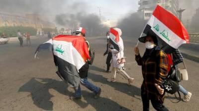 عراق:حکومت نے احتجاجی مظاہروں پر قابوپانے کے لئے انٹرنیٹ سروس معطل کردی۔