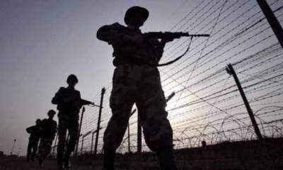 بھارتی فو ج کی ایک بار پھر لائن ااف کنٹرول کی خلاف ورزی
