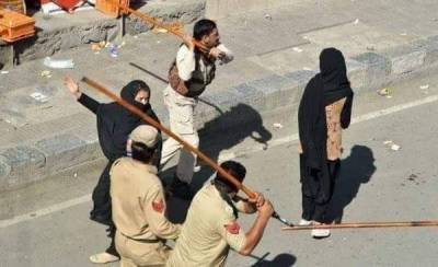 مقبوضہ کشمیر:بھارتی محاصرے کے سبب خواتین کو بھی سخت مشکلات کا سامنا