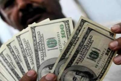 ہفتے کے پہلے روز ڈالر کی قیمت میں پانچ پیسے اضافہ