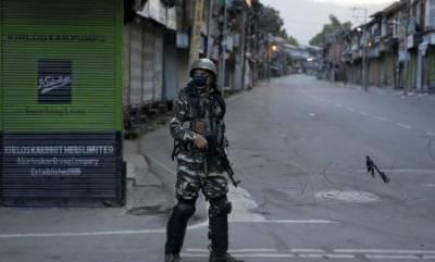مقبوضہ کشمیرمیں بھارت کی طرف سے سکیورٹی کے نام پرنافذ کرفیو مسلسل 100ویں روزبرقرار،صورتحال بدستور سنگین
