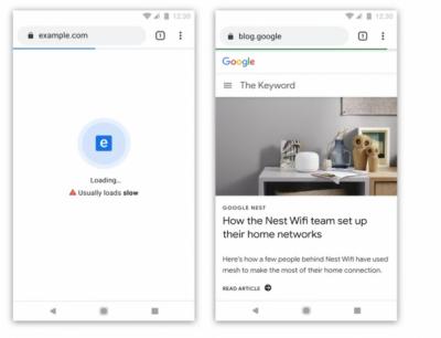 گوگل کروم سست رفتار ویب سائٹس کی نشان دہی کرے گا
