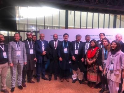 وزیر تعلیم شفقت محمود نے پیرس پیس فورم میں پاکستان کی نمائندگی کی