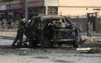 کابل میں کار بم دھماکے میں 7 افراد ہلاک،7زخمی
