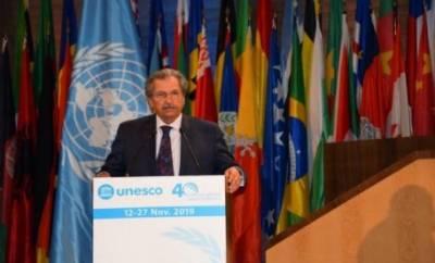 پاکستان کشمیریوں کے بنیادی انسانی حقوق کی بحالی کیلئے یونیسکو کے کردار کا خواہاں ہے. وفاقی وزیر تعلیم شفقت محمود