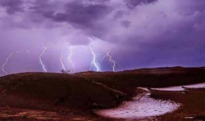 تھرپارکر کے مختلف علاقوں میں آسمانی بجلی گرنے سے سینکڑوں مویشی ہلاک