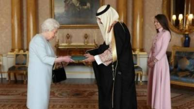 برطانیہ میں سعودی سفیر تعیناتی ، ملکہ الزبتھ کو سفارتی اسناد پیش کردیں