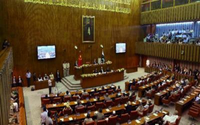 سینیٹ اجلاس غیرمعینہ مدت تک ملتوی