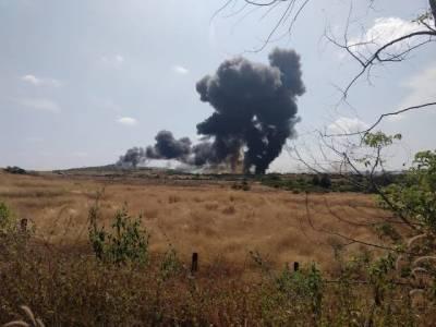 ایک پرندے نے بھارتی فوج کالڑاکا طیارہ گراکر تباہ کردیا۔