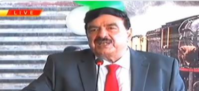ریلوے کے وزیر شیخ رشید احمد نے آج صبح راولپنڈی ریلوے سٹیشن پر سٹیم انجن سفاری ٹرین کا افتتاح کیا
